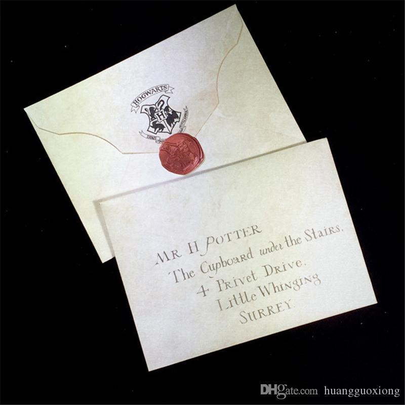 Creative Hogwarts Admission Letter Harry Potter Retro Envelope Collection for Harry Potter Fans