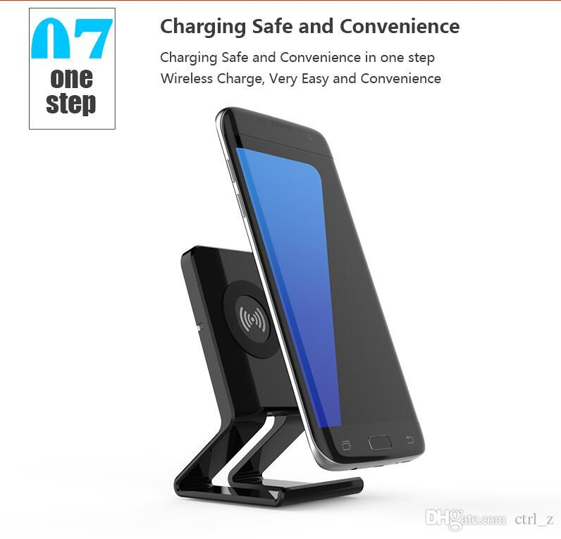 Wireless Charger Convertible Pad Stand Faster charger for iphone X 8 PLUS Samsung Galaxy S8 Note 8 Huawei all cell phone