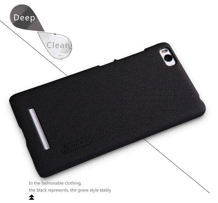 pretty nice 23f37 bbf5f mobile phone case for xiaomi mi4i/xiaomi mi 4i/mi4i NILLKIN phone bag case  hard plastic back cover case free shipping