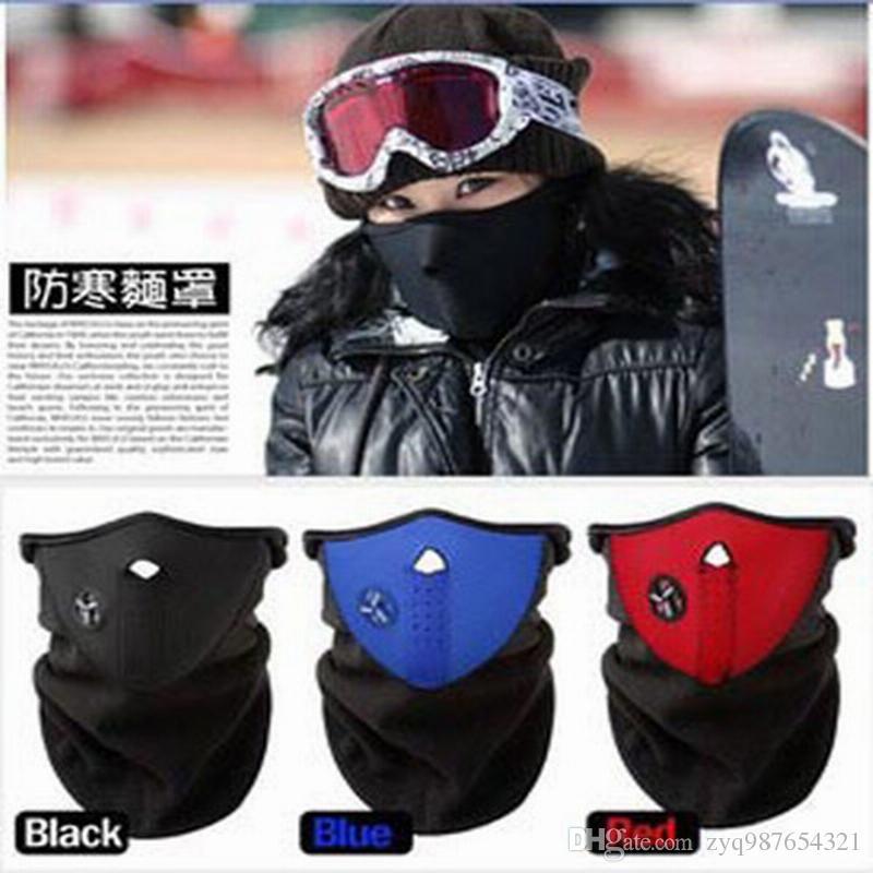 Hot Sale New Neoprene Winter Warm Neck Half Face Mask Windproof Veil Sport Snow Bike Motorcycle Ski Mask