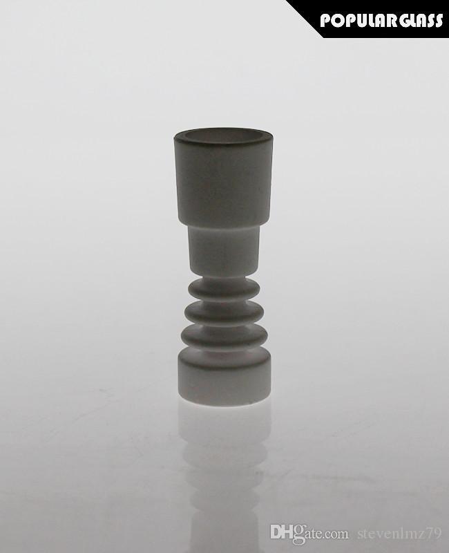 Saml Céramique Nails BONG Accessoires fumeurs Coup de tuyau Domelable Taille du joint 18.8 / 14.4mm PG5062