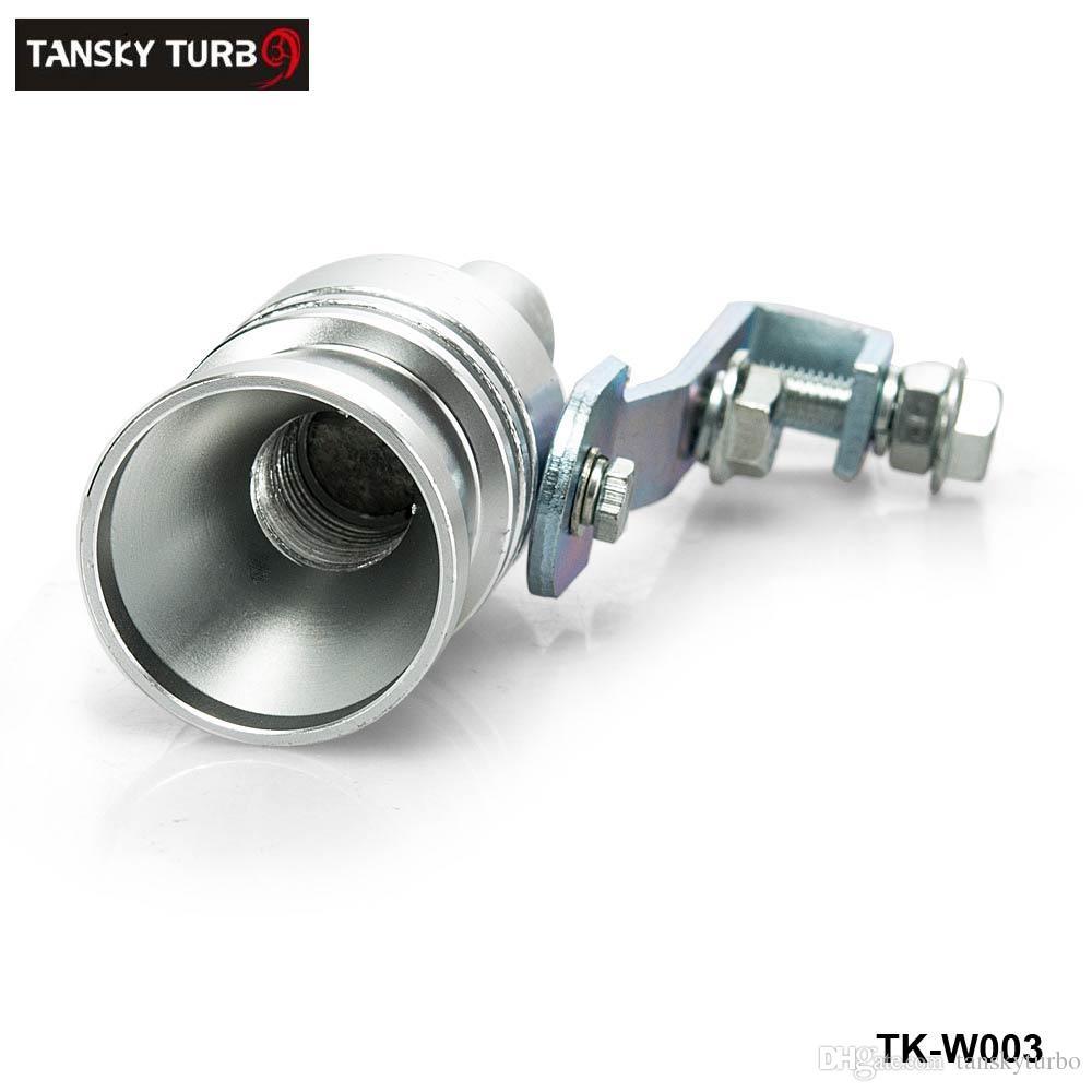 Tansky - Universal Turbo Sound Exhaust Muffler Pipe Whistle / Fake Blow-off BOV Simulator Whistler Size XL TK-W003