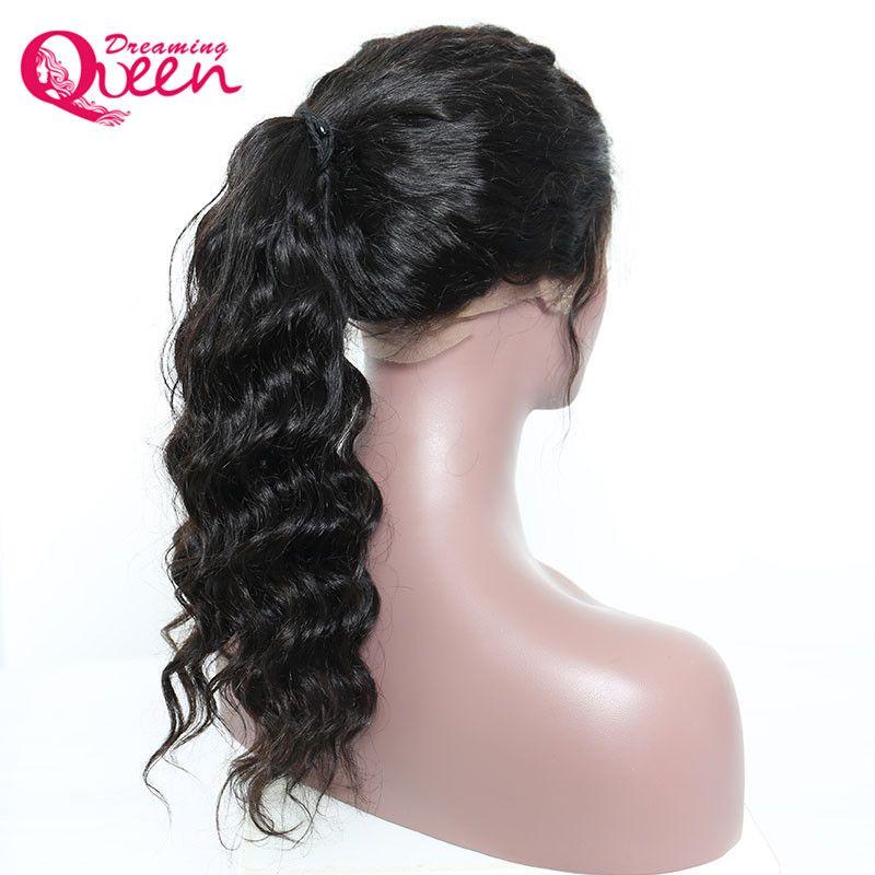 Lose Welle Perücke in reines Menschenhaar Spitze Frontal 9A Pre gezupfte natürliche Haaransatz Perücke für schwarze Frauen