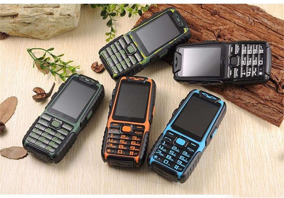 Guophone a6 handy täglich staubdicht 9800 mah dual sim 2,4