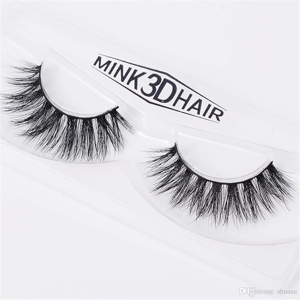 Mink Lashes 3d Lashes Long Lasting Lashes Natural Lightweight Mink