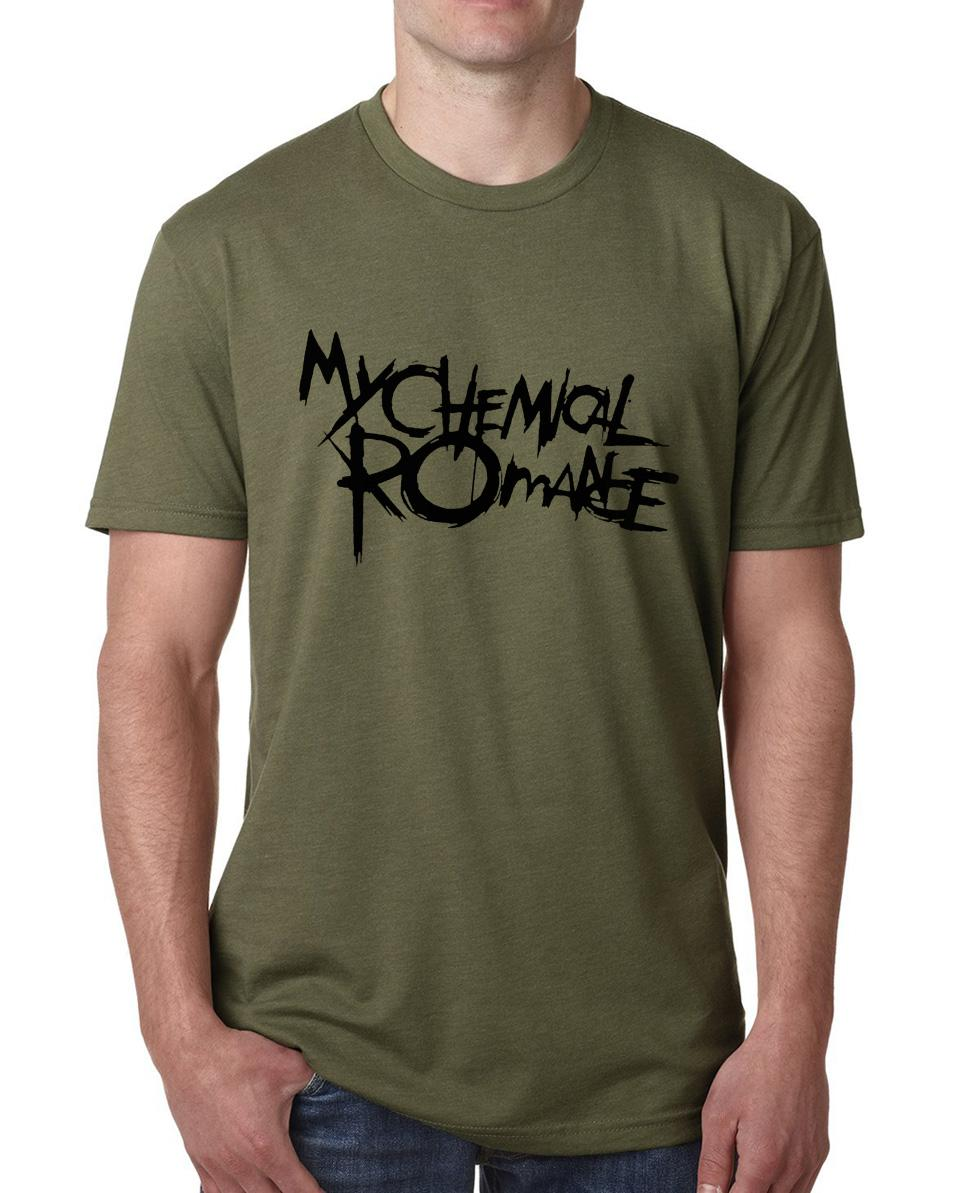 Wholesale Funny My Chemical Romance T Shirt Men 2017 Summer Hot Sale