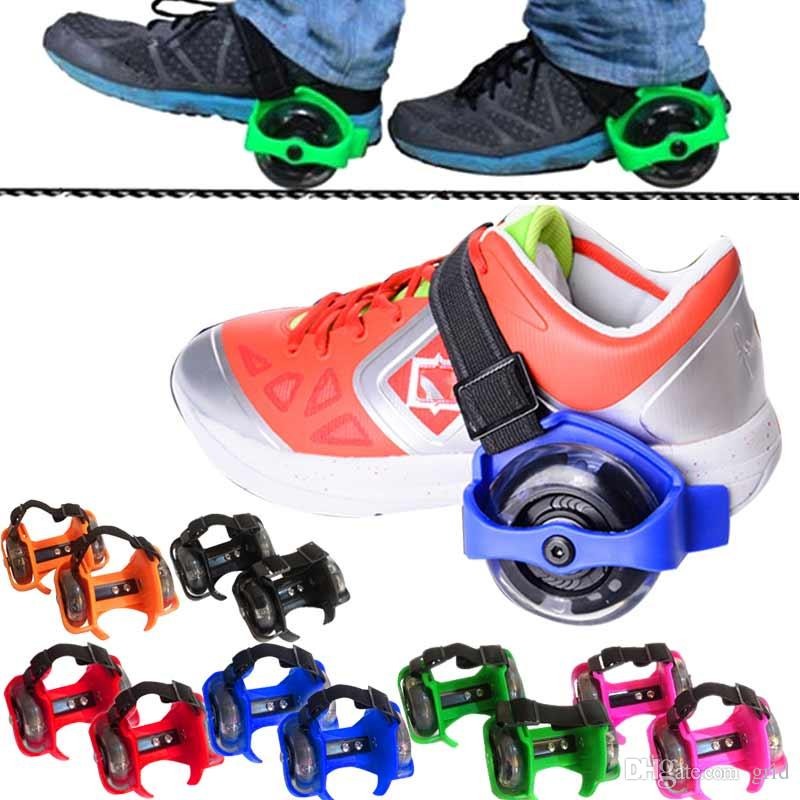 80a774c726f7ee Factory Price High Quality Fire Wheel Shoes Children Flashing Roller Small  Whirlwind Pulley Flash Wheel Skate Shoes Flashing Roller Shoes Australia  2019 ...