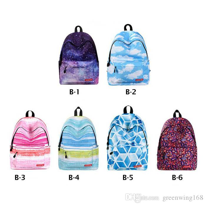 Big Capacity Women Art Oil Painting Backpack Sky Scenery Space Printed  School Bag For Teenager Girls Rolling Backpack Gym Bags For Men From  Greenwing168, ... 34e03b272e
