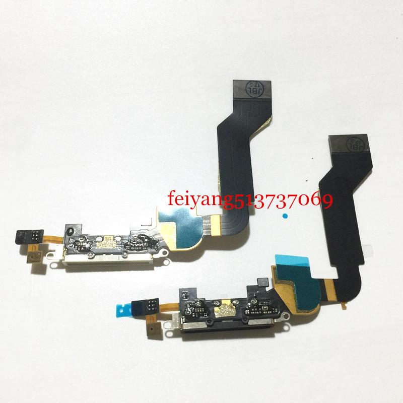 Orijinal Dock Bağlantı Şarj iPhone 4s Cep Telefonu Şarj Flex Port Flex Kablo Değiştirme