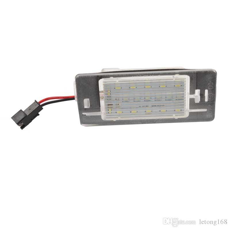 CAR FOR OPEL Vectra-C 2002-2008 FREE ERROR 18SMD LED License Plate Lamp 12V