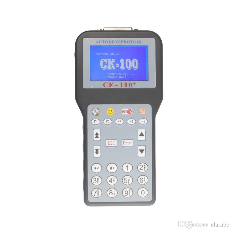 Programador automático de teclas CK100 Sin fichas Limite CK-100 Car Key Maker V99.99 Última generación de SBB CK 100 con 7 idiomas