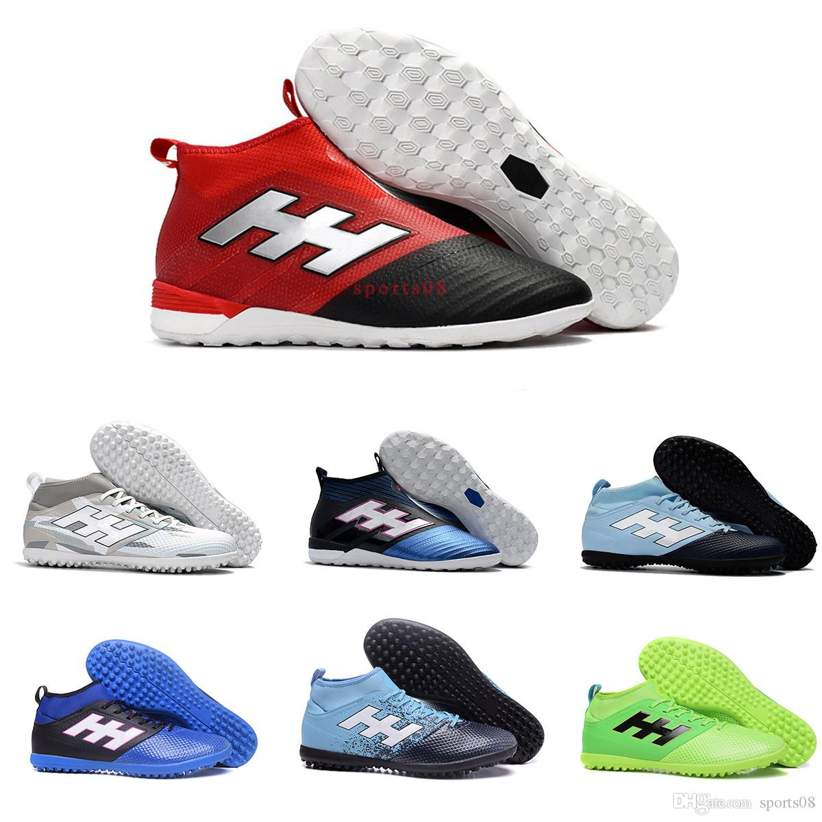 Original ACE Tango 17 Purecontrol FG Indoor Soccer Cleats Turf In Best  Quality Soccer Shoes 2017 ACE Football Boots Mens Women No Laces Boot UK  2019 From ... 102bf7926