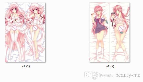 2018 Mirai Nikki Anime Characters Sexy Girl Gasai Yuno Throw Pillow Cover Future Diary Body Pillowcase From Beauty Me 2212