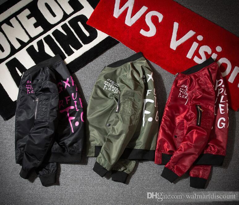 MA1 Uçan Ceket Supremitied Bombacı Uçuş Ceket Nakış Sonbahar Siyah Ceketler Erkekler Marka-giyim