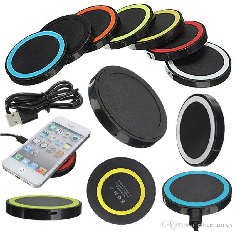 2017 Universal Q5 Charger Qi Wireless Power Charging Charger Pad kit For iPhone and for Samsung S6 DHL Free