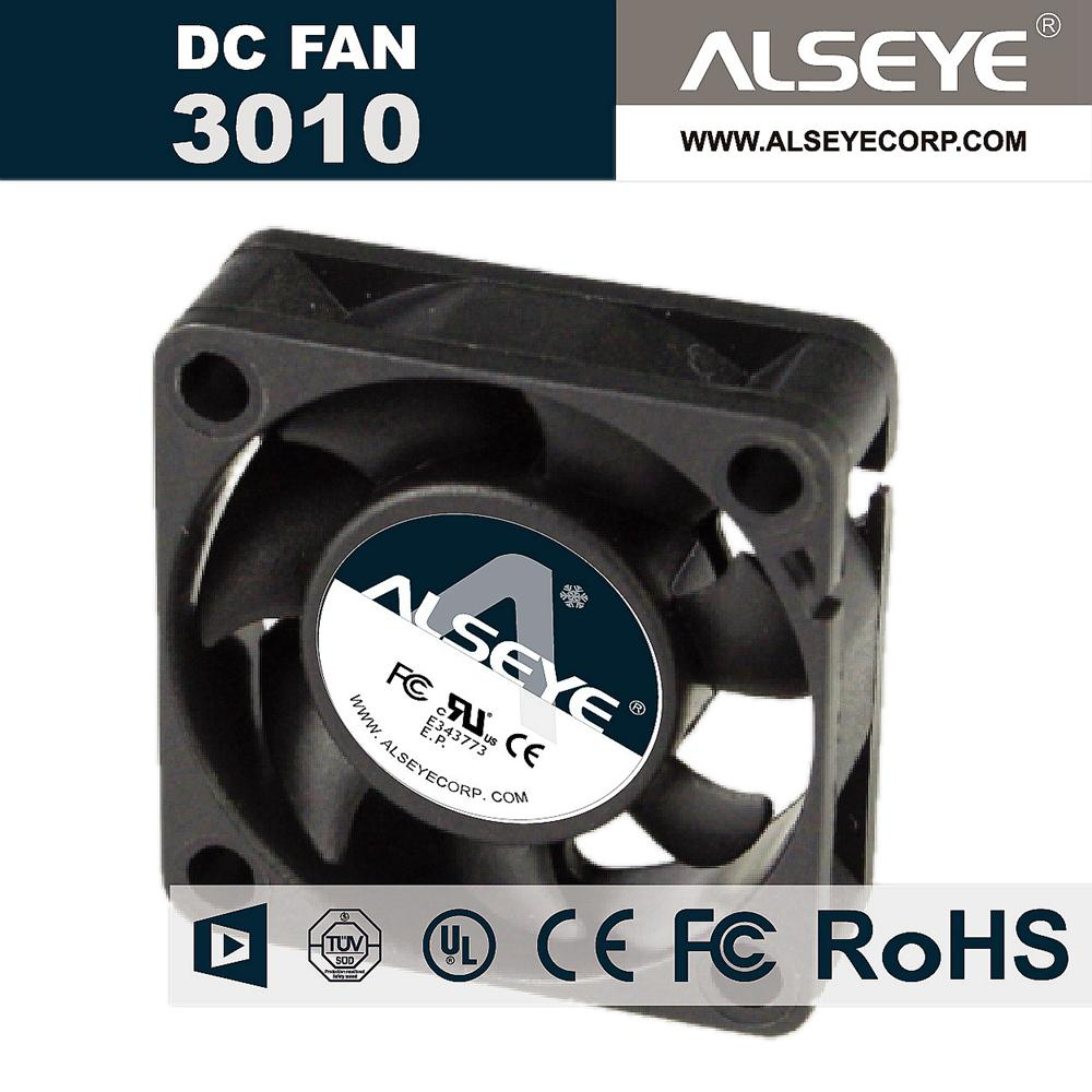 Wholesale Alseye 3010svh N1 Mini Cooling Radiator Dc Fan 30mm 12v Casing 12cm 032a 10000rpm Sleeve Bearing Computer Cooler Switch Cnc
