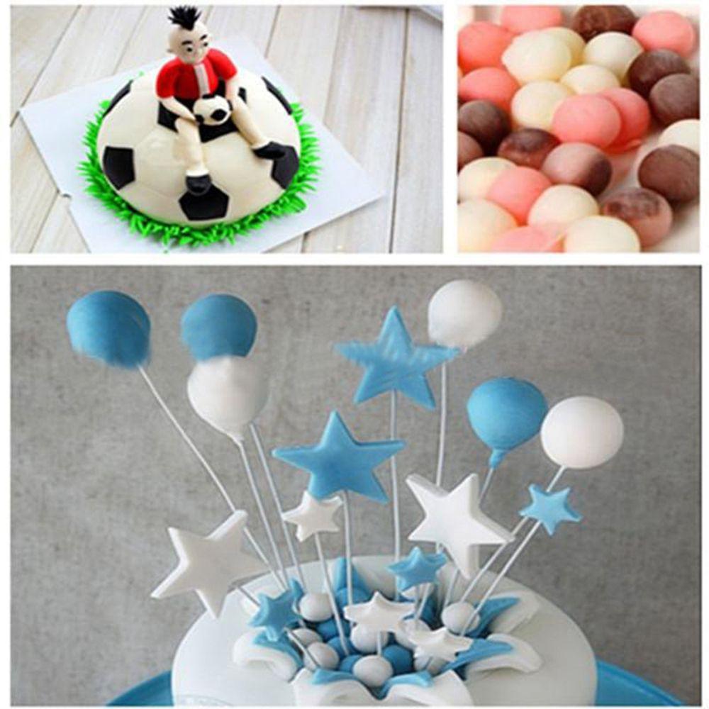 Hot Sale 8cmx3.5cm 3D Aluminum Alloy Ball Sphere Bath Bomb Mold Cake Puddings Pan Tin Baking Pastry Mould