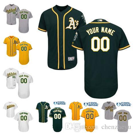 size 40 d8f3a 8a859 mens oakland athletics customized white jersey