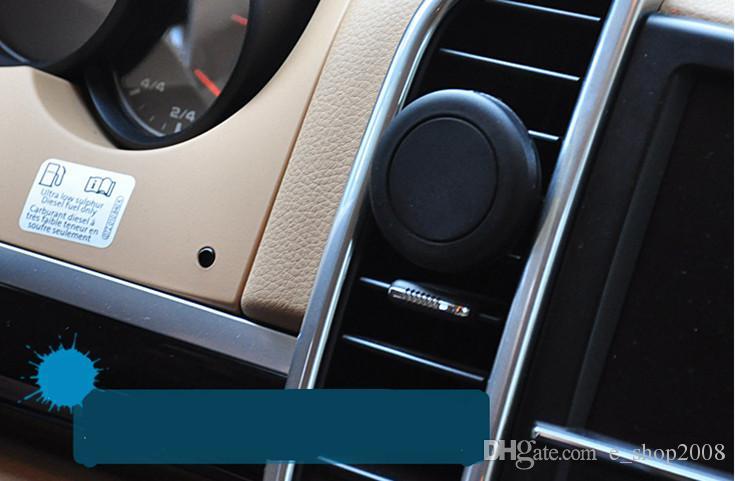 Kfz-Halterung, magnetischer Universal-Kfz-Halter mit Lüftungsschlitz für iPhone 8/7/6 / 6s, einstufige Montage, verstärkter Magnet