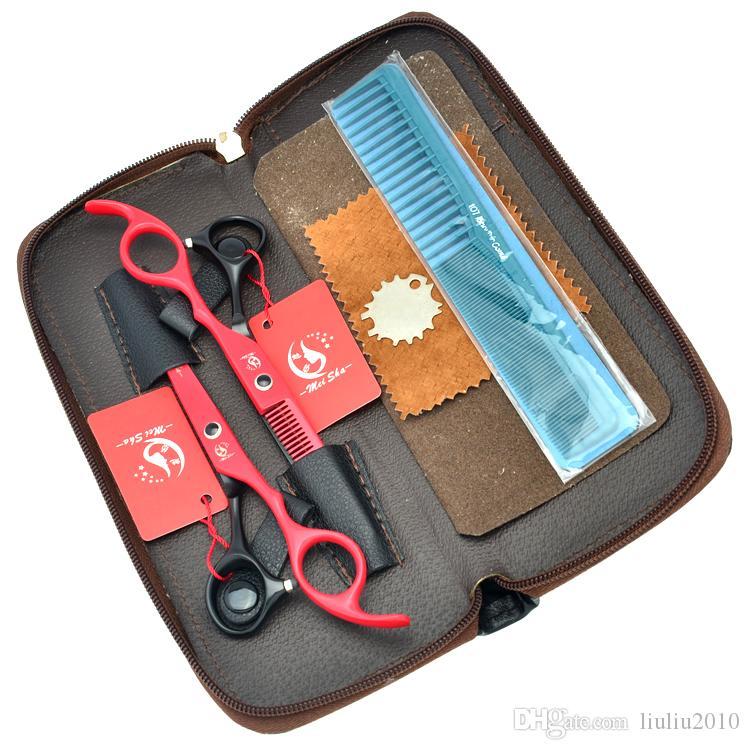 6.0Inch Meisha Barber Scissors Kits JP440C Professional Hairdressing Scissors Hair Cutting Salon Tool Hair Thinning Shears ,HA0213