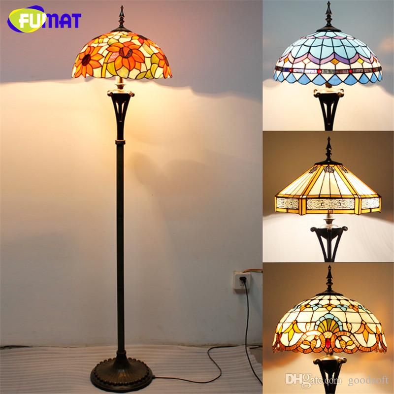2018 fumat tiffany glass art floor lamp stained glass curtain beads 2018 fumat tiffany glass art floor lamp stained glass curtain beads baroque stand light fixtures living room lights book store bar decor lamp from goodsoft aloadofball Images