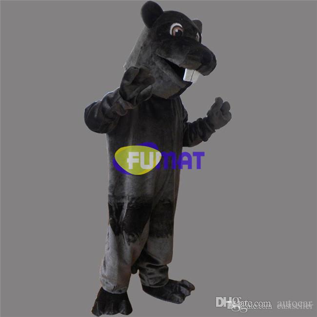 FUMAT Hamster Cartoon Charakter Kostüm Erwachsene Größe Tier Maus Maskottchen Kostüme Birthday Party Phantasie Party Kleid Erwachsene Bild Anpassung