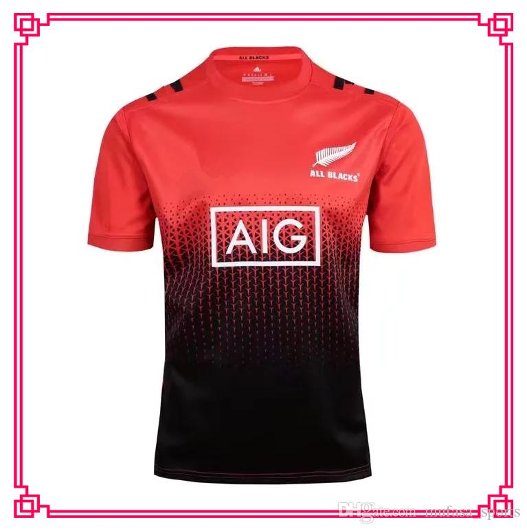 NRL Jersey Rugby Shirt New Zealand 2017 All Blacks Rugby Jerseys Training Clothes  Shirts S-2xl Shirt Rugby Jerseys Jersey Online with  21.31 Piece on ... 66c79ca3b