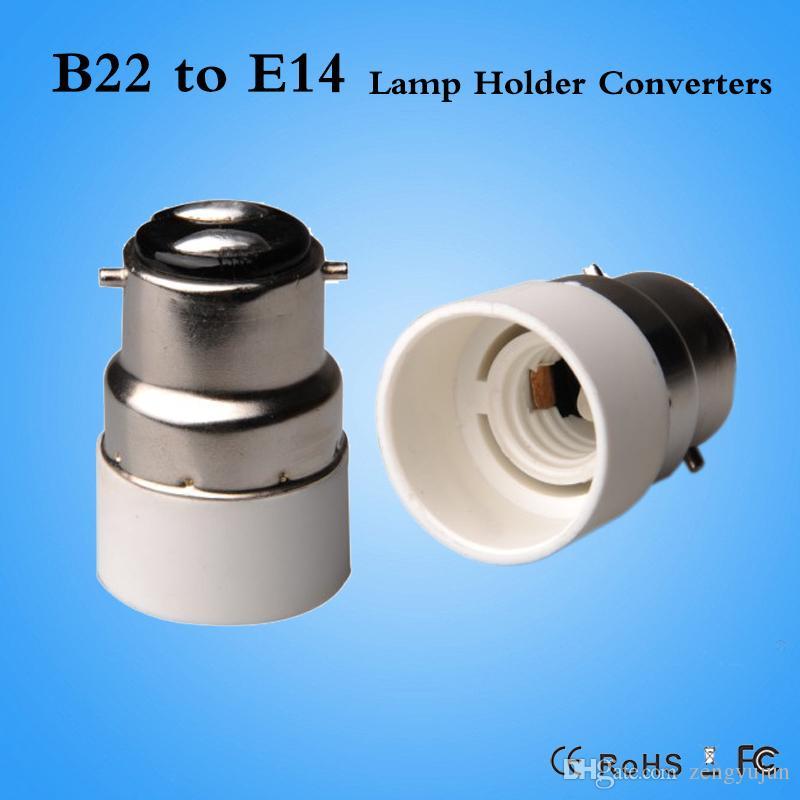De E14 Base Support Adaptateur Cfl Ampoule Bases Halogène Convertisseur Led Lampe B22 À Pour kuXZiP