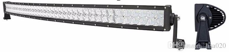 50'' inch 288W Curved Dual Row LED Light Bar CREE BAR ATV Car SUV 4X4 Offroad LED Light Bar hot sale type