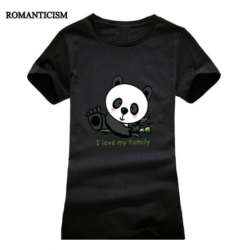 Wholesale Romanticism Lovely Panda Print T Shirt Women Cool Punk Animal  Fashion Short Sleeve T Shirts For Women Cute Tops Tees Cool Shirts Formal  Shirts ... 79952173beb