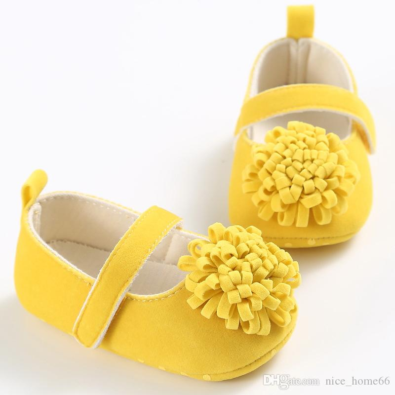 2017 Summer New Baby Girl Sandals Baby First Walk shoes Soft Bottom Shoes Baby Summer Flower Sandals Infant Cute Shoes