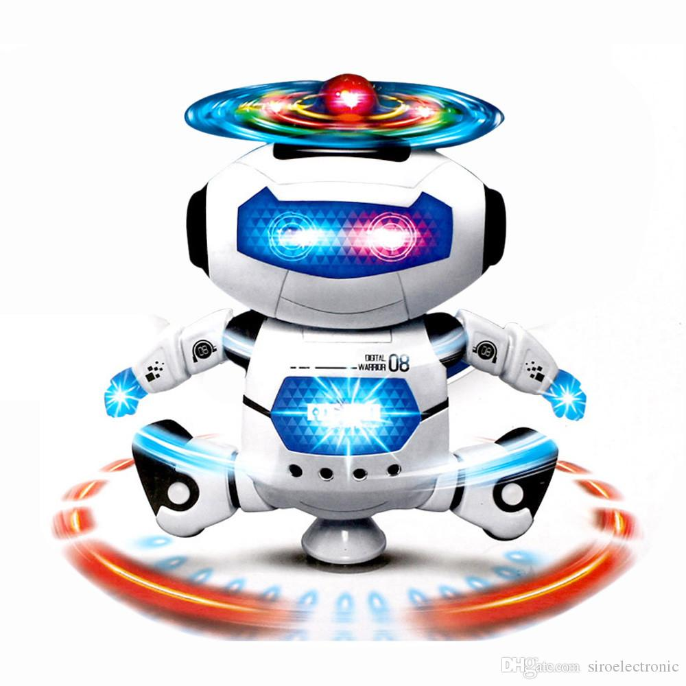 Best New Electronic Toys : Best children electronic walking dancing smart space robot