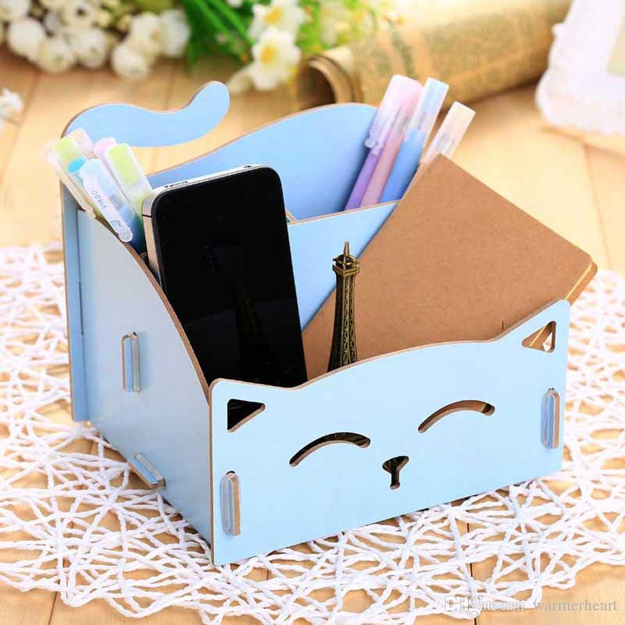 Online Cheap Hoomall Wooden Storage Box For