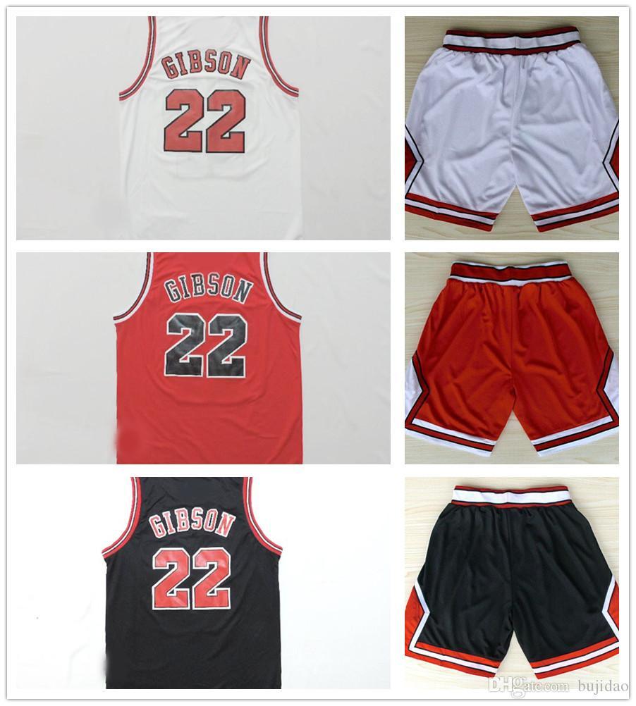 1f354ab5b ... Mens Black Red White Taj Gibson Jersey Sport NBA Chicago Bulls 22 Taj  Gibson White Basketball Jersey Heat Applied Adidas Oklahoma City Thunder  Swingman ...