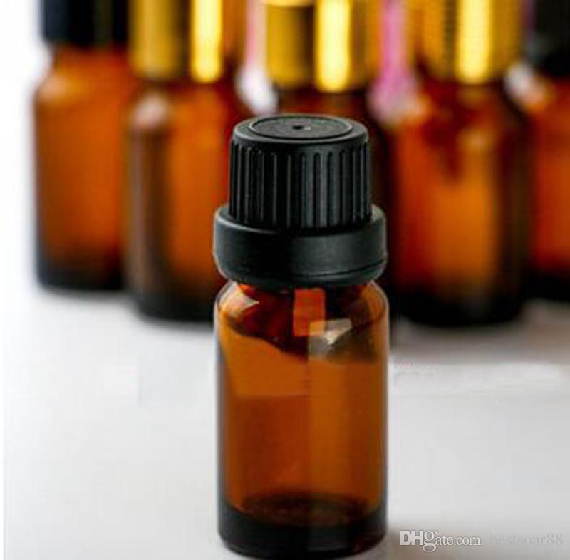 / 10ml 유리 dropper 빈 병 E 주스 E 액체 유리 병 10ml for Essential Oil DHL Free