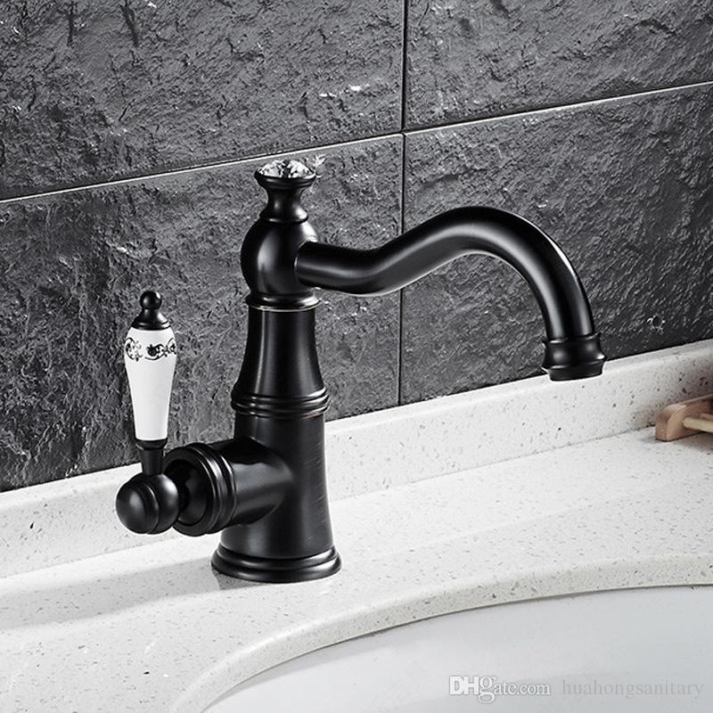 wholesale and retail one handle bathroom sink faucet with oil rubbed rh dhgate com