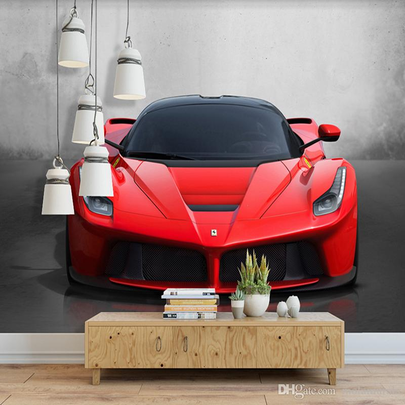 custom any size 3d sports car poster photo wallpaper living room rh dhgate com