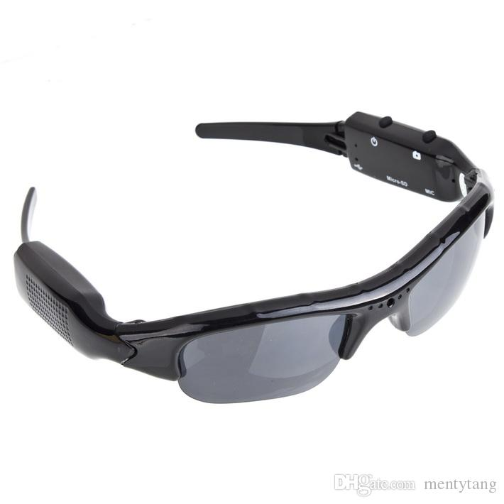 DV Sports Polarized Sunglasses Eyewear Video HD 1080P Camera DVR 120 Degree Recorder Cam Outdoor