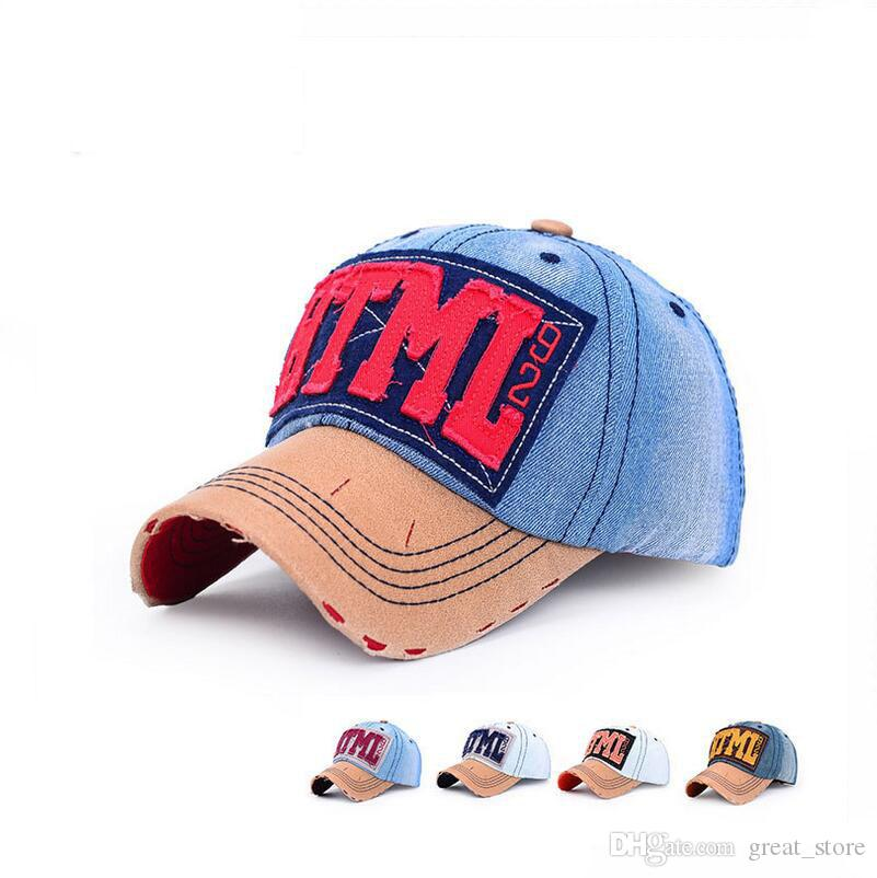 9dd8df91d90 Spring And Summer Cowboy Baseball Cap Male Lady Shade Couple Hat ...