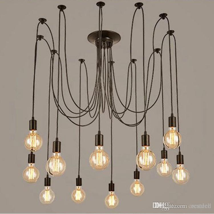 Modern Vintage Lights Chandelier Pendant Lighting Holder Group Edison Diy Lighting L&s Lanterns Accessories Messenger Wire Hanging Pendant Light Modern ... & Modern Vintage Lights Chandelier Pendant Lighting Holder Group ...