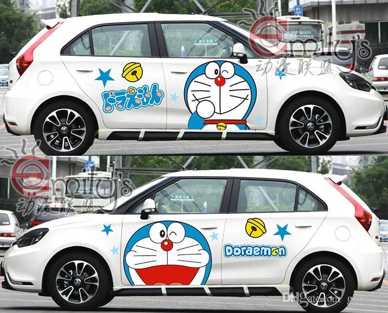 New Hot Anime Miku Car Stickers Anime Stickers Kawaii - Car anime stickers
