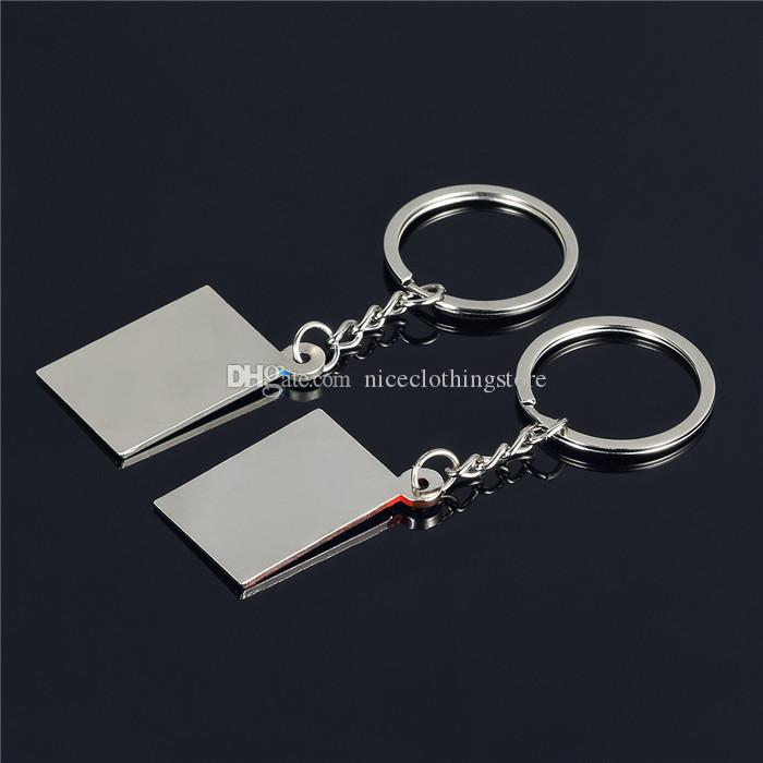 I Love You Love Heart Envelope Mailer Metal Alloy Keychain Couples Key Chain Pendant Keyring Keychains Wedding Gift Best Gift