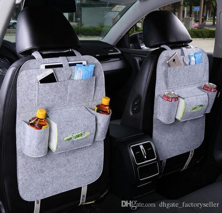 Insulation Work Style Auto Autositz Organizer Kleinigkeiten Halter Multi-Pocket Reise Aufbewahrungstasche Aufhänger Rücksitz Organizing Box