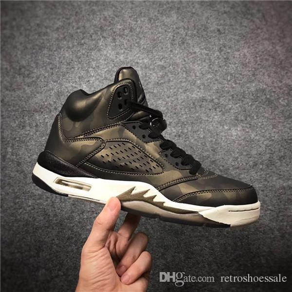 ae17b1bd538f 2017 New Premium Heiress 5 Metallic Field 5 5s Basketball Shoes ...