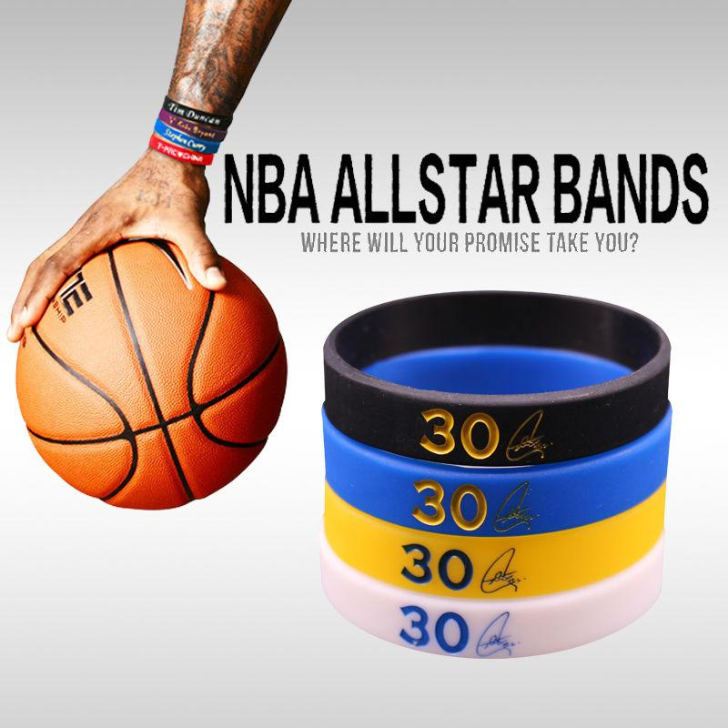 Wholesale Golden State Stephen Curry Basketball Bracelets