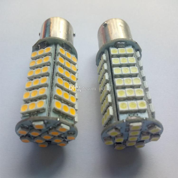 White/Pure White Car Led 1156/1157 BA15S 102SMD Led 3528 Chip Light LED Lamp Turn Signal Lights Brake Lights Reversing lamp