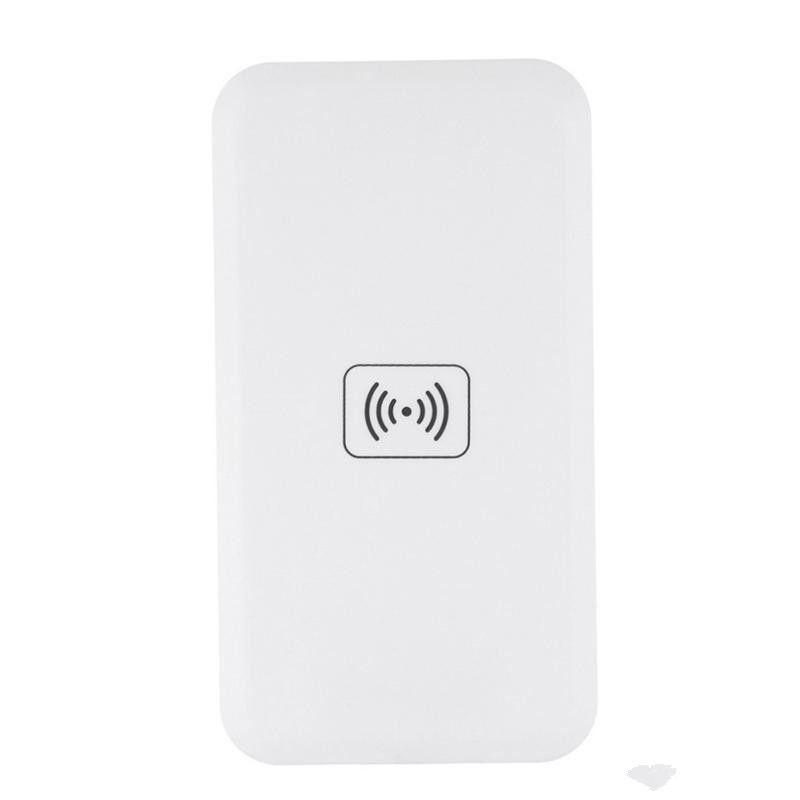 2018 Qi estándar MC-02A Cargador inalámbrico universal de carga del cojín del transmisor para Samsung Galaxy S6 borde S7 más Note8 Iphone 8 X