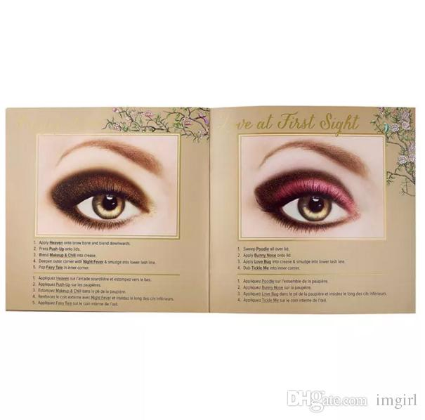 2017 NEW Face Makeup Natural Love Eye Shadow Collection Pallette Professional Eyeshadow Palette