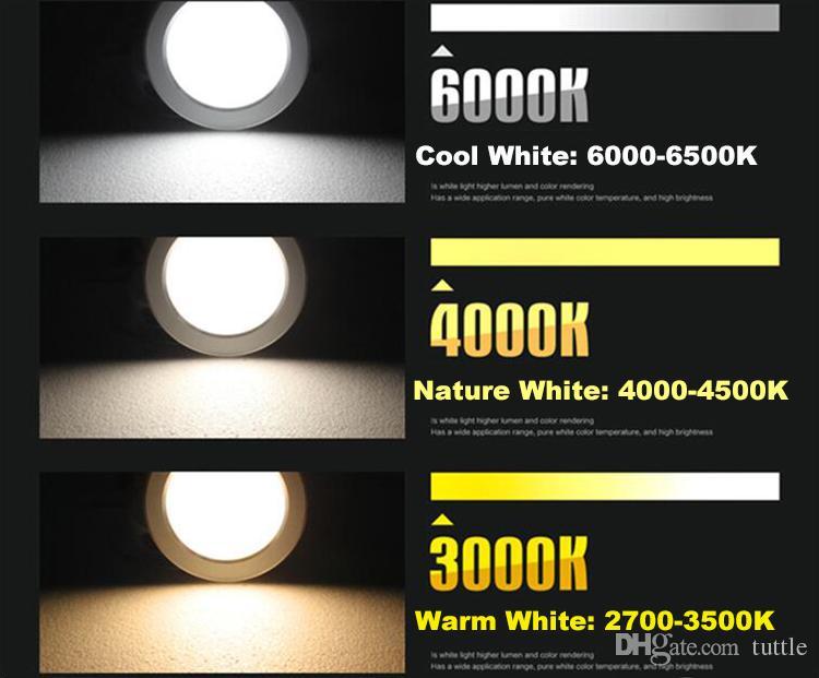 شحن مجاني 9 واط 12 واط 15 واط 18 واط 21 واط النازل رقيقة جدا الصمام ضوء السقف لوحة الإضاءة ac85-265v