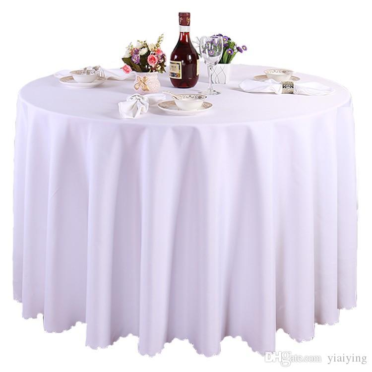 118 tablecloth table cover round satin for banquet wedding party rh dhgate com